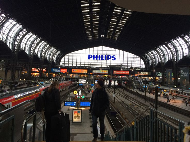 Hamburg Hbf - central station ! Quite buzzing round the clock