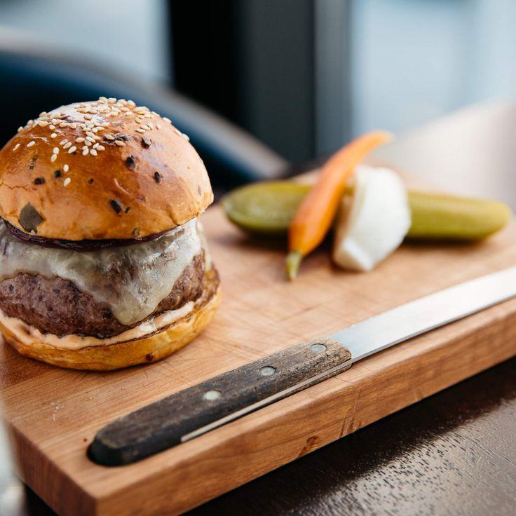 Dry Aged #BeefBurger - NoMad Bar -Thrillist #Foodies