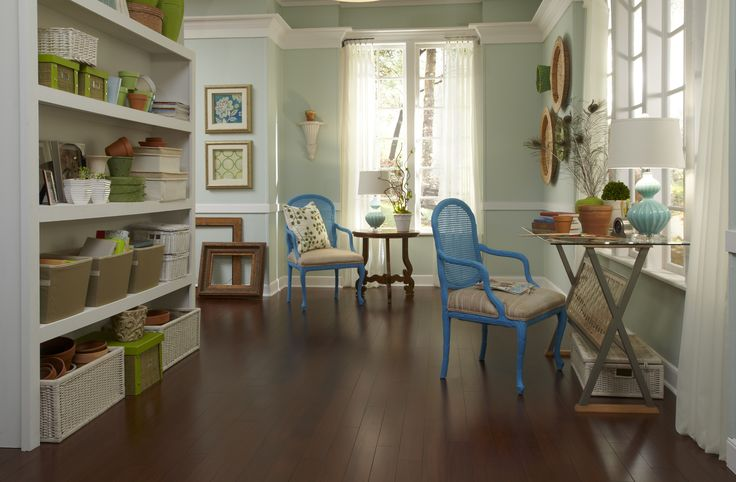 648 best affordable at home images on pinterest lumber for Most inexpensive flooring