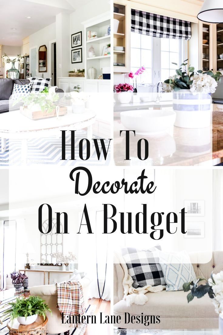 Home Decorating Ideas On A Budget Tips And Tricks How To Decorate Your