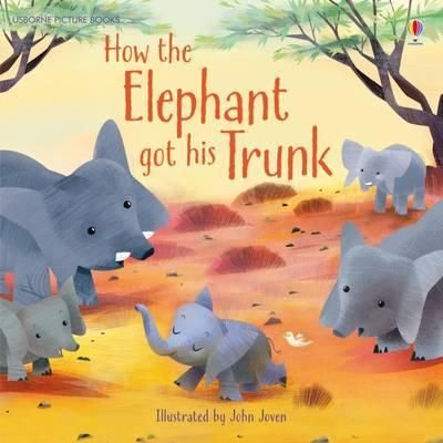 Once-in-a-time-long-forgotten-elephants-had-short-stubby-noses-So-how-did-they-get-their-trunks-This-gorgeously-illustrated-picture-book-for-young-children-has-been-adapted-from-one-of-Rudyard-Kiplings-Just-So-Stories-Perfect-for-reading-together-or-for-beginner-readers-to-enjoy-alone