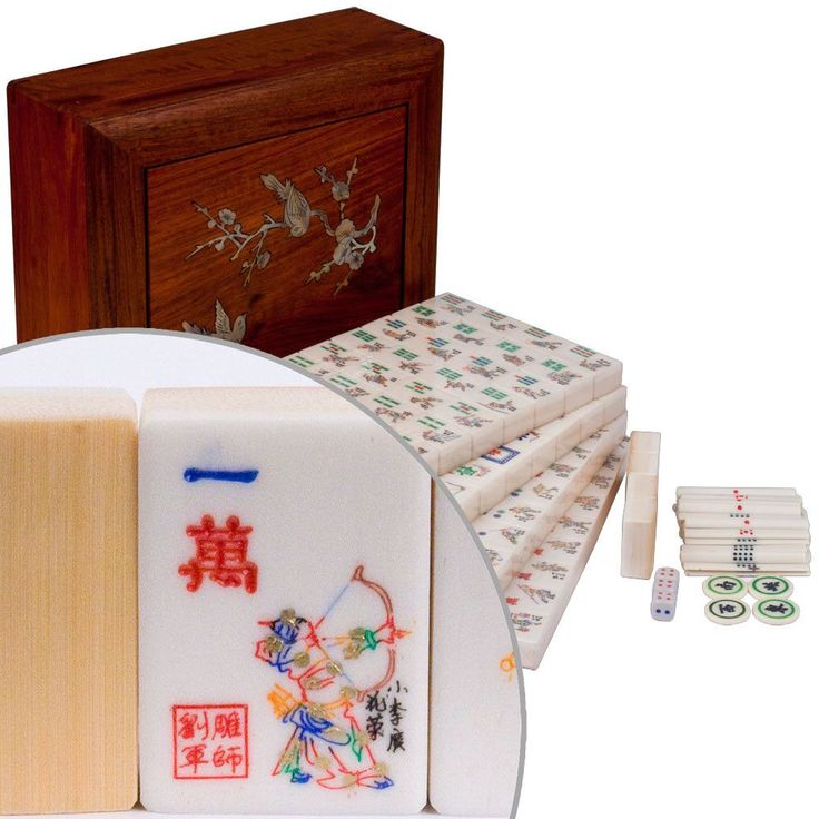 Outlaws of the Marsh Chinese Mahjong Treasure Set (The Water Margin)