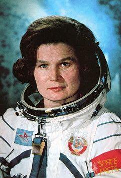 Valentina Tereshkova, first woman in space celebrates today 75th birthday.