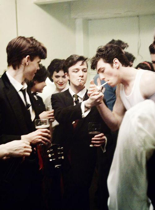 Thomas Brodie-Sangster, Sam Bell & Aaron Taylor-Johnson (Nowhere boy)
