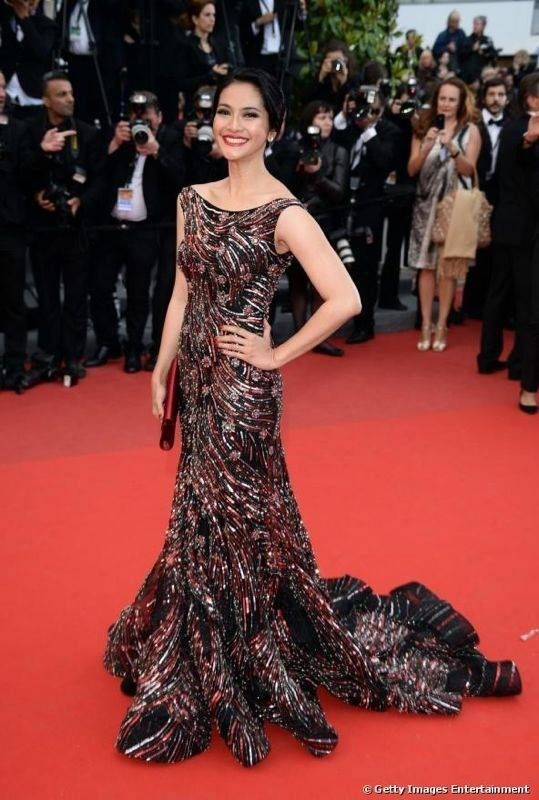 Show time! Maudy Koesnaedi - Cannes Film Festival 2013