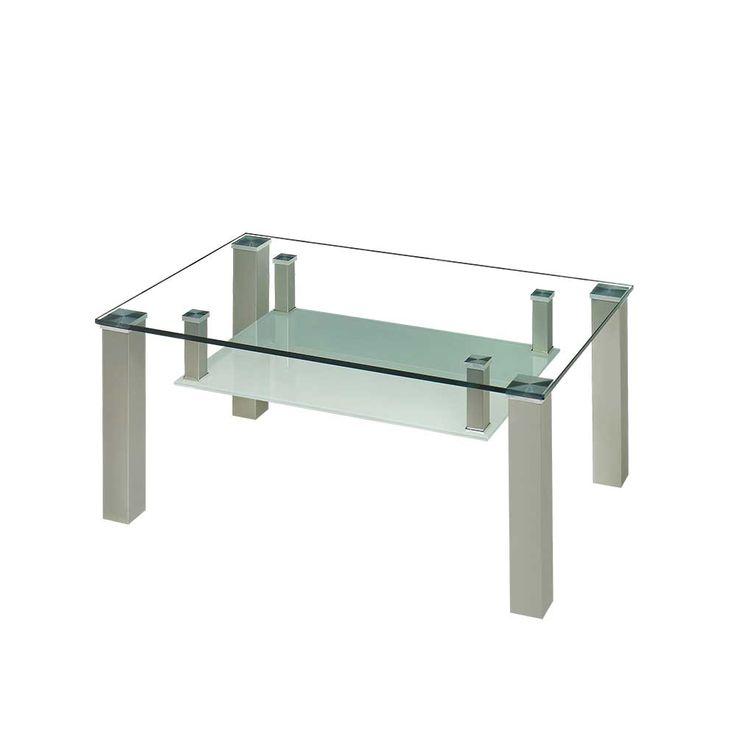 Couchtisch Mit Glasplatte Und Glas Ablage Rollbar Jetzt Bestellen Unter Moebel