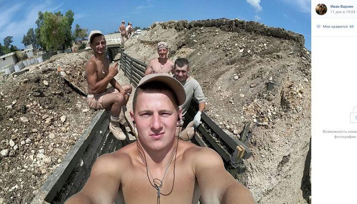 Марскія пяхотнікі Балтыйскага флёту ў Сірыі