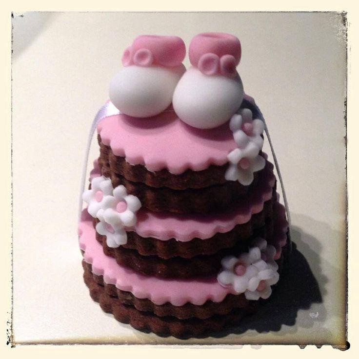 Mini cake of cookies