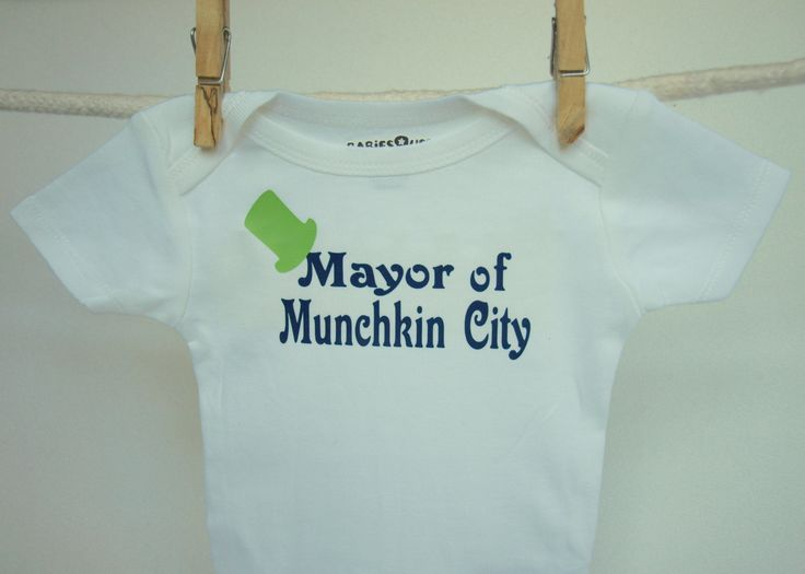 43 best inappropriate onesies i want for my future child images wizard of oz onesie mayor of munchkin city funny baby onesie bodysuit negle Choice Image