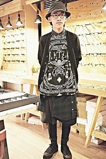 Fjällräven Hats, Glasense Studio Glasses, Uniqlo Cardigans, Kokon To Zai Tops, Muji Shirts, Schulz Works Skirts