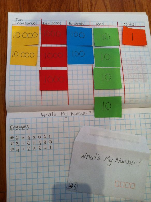 Best Place Value Images On   School Place Value