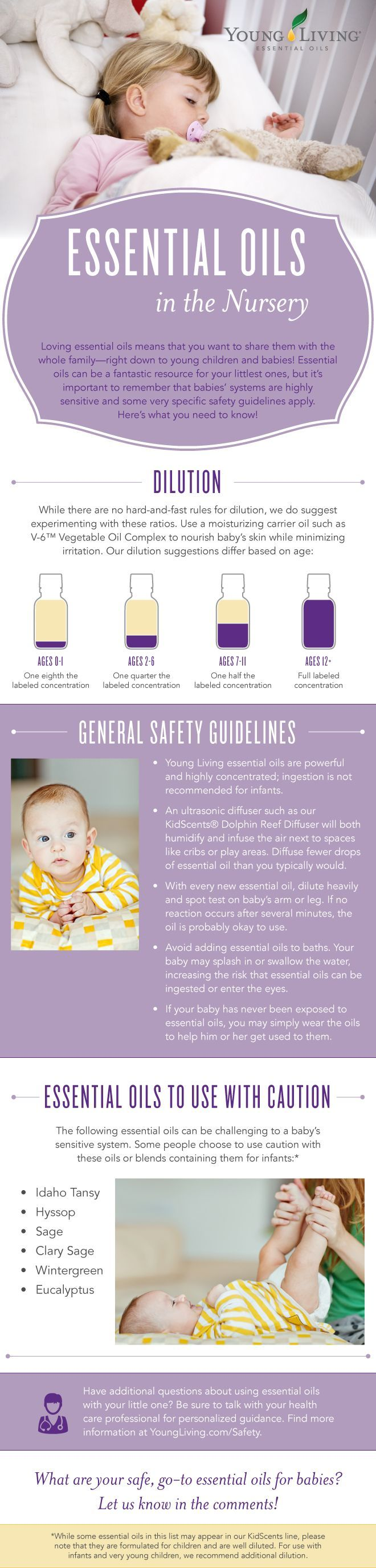 Young Living - Babies and Essential Oils