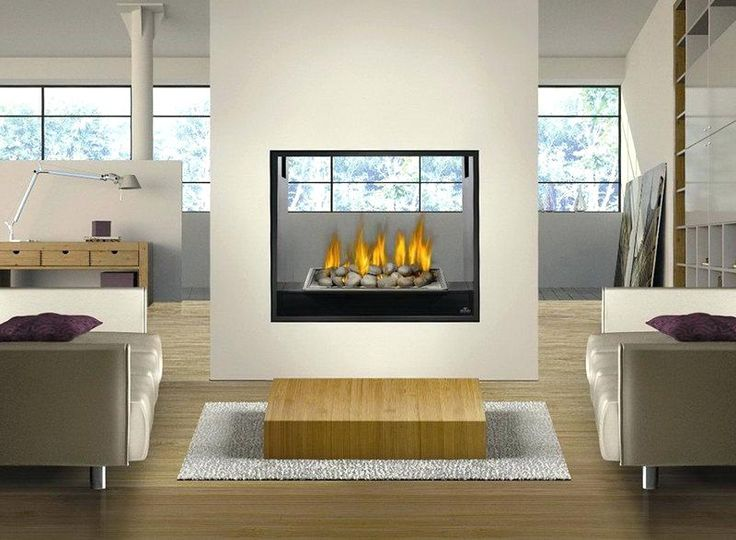Image result for electric fireplace double sided