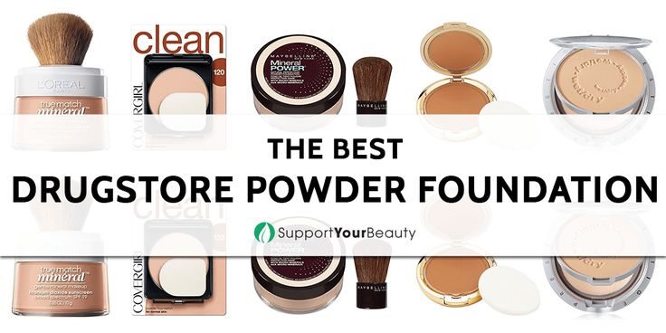 The Best Drugstore Powder Foundation – 2018 Reviews & Top Picks - Check it out here https://supportyourbeauty.com/best-drugstore-powder-foundation/ on Support Your Beauty! #Foundations #beauty