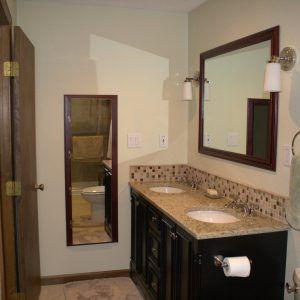 Elegant Ideas For Bathroom Vanity Backsplash