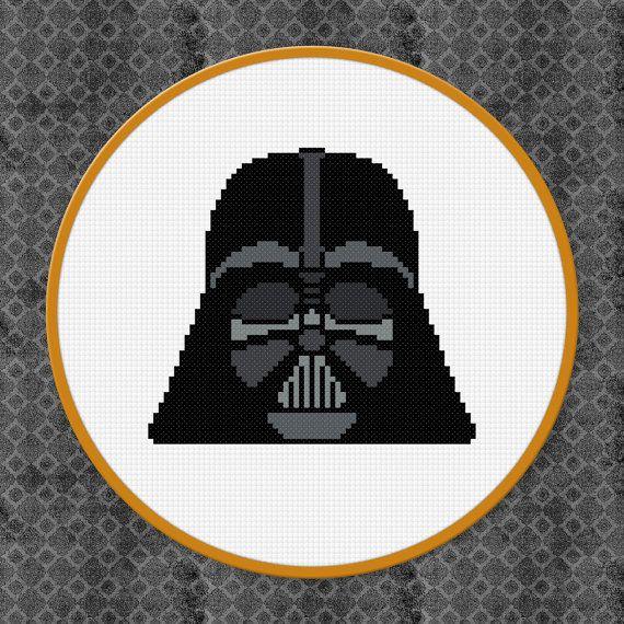 Darth Vader Star Wars Digital PDF Cross by AmazingCrossStitch