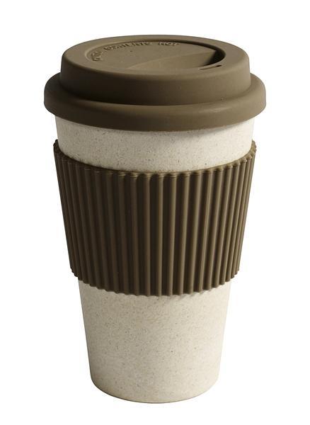 Bamboo Mug with lid & Sleeve