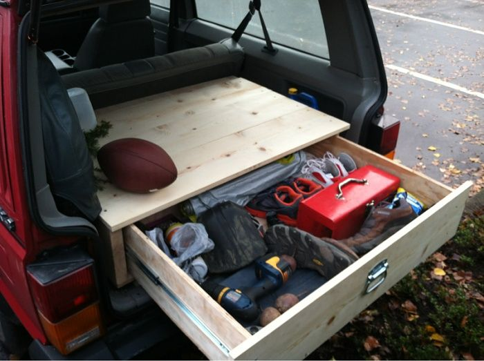 Homemade Jeep Storage Box | Images of Wiring Diagrams on