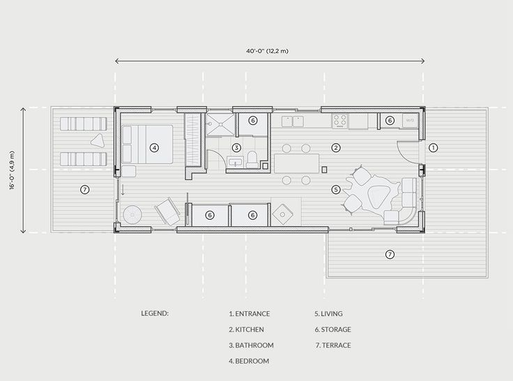 The 124 best tiny house ideas images on pinterest gypsy caravan good 2 x 40 ft shipping container house plan fandeluxe Gallery