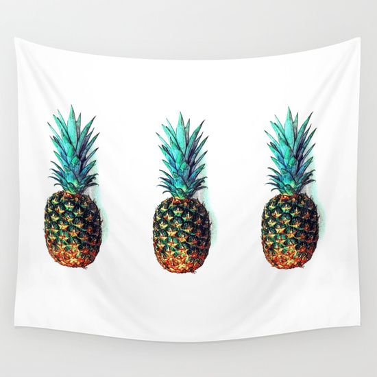 Buy tri soldier pineapples by Lillyan as a high quality Wall Tapestry. Worldwide shipping available at Society6.com. Just one of millions of products available.