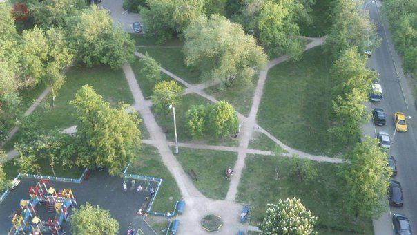 Защитная пентаграмма двора — Странная Россия