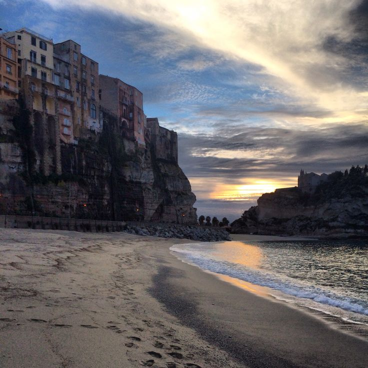 Sunset in Tropea 07/02/14