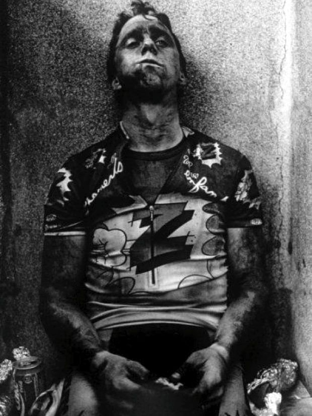 The enormous weight of the total exhaustion felt by Greg LeMond at this moment (Paris Roubaix) fills my spirit with equal measures of dread and envy.  www.velominati.co...