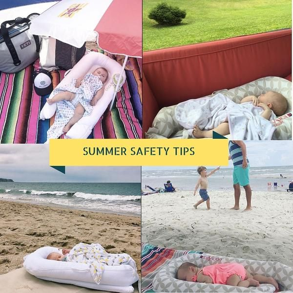 SUMMER SAFETY TIPS FOR BABIES
