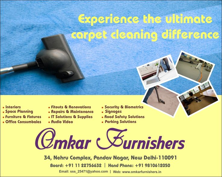 Experience the ultimate carpet cleaning difference with Omkar Furnishers