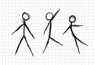 As 25 melhores ideias de Draw a stick man no Pinterest