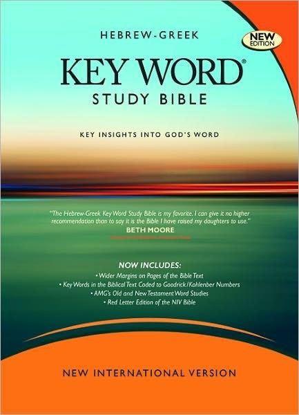 NIV Hebrew-Greek Key Word Study (New)-Hardcover