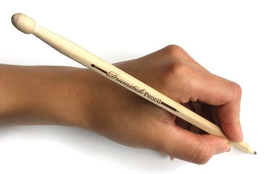 Awesome Drumstick Pencil: Turn Your Office Table Into A Drumset. Now available at @aksara_pp @aksara_plzindo @aksara_kemang @aksaracitos