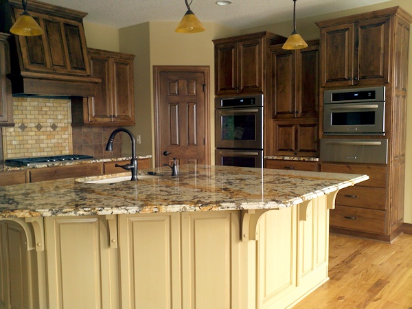 Ldk Kitchen With Exotic Cambria Countertops Custom Wood