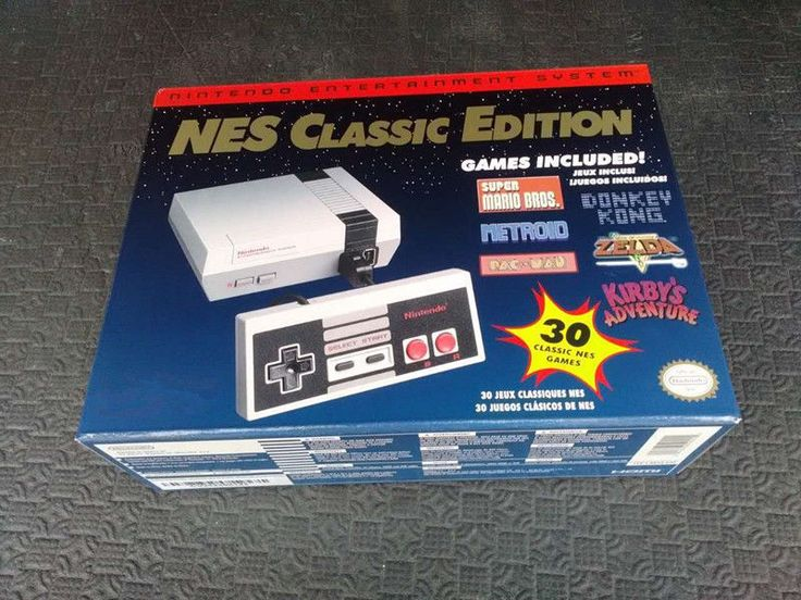 NES Mini Classic Edition Entertainment Console Built -in 30 Games Xmas Gift Kids: $88.99 End Date: Saturday Dec-9-2017 1:30:44 PST Buy It…