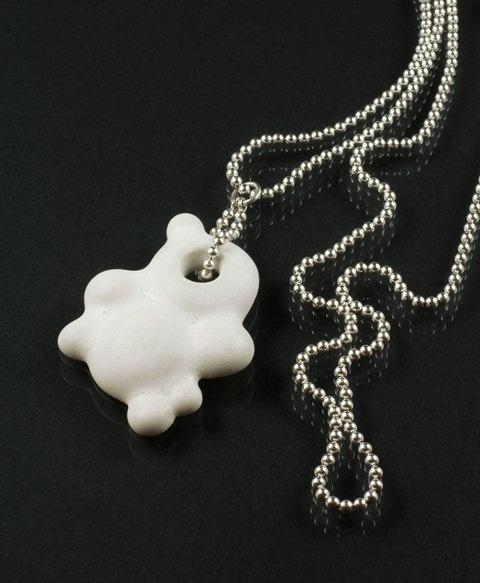 Wonderland pendant by jewellery designer Tytti Lindström