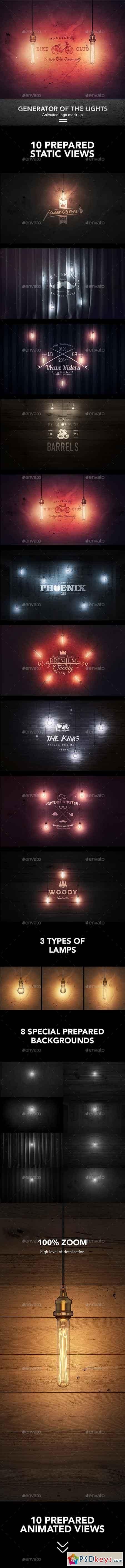 Creator Logo Mock-up Lighting Edition 17370055