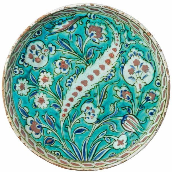İznik Plate 16th c  Turkey