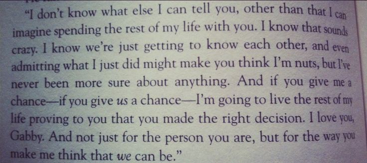 Swoon - Quote from The Choice by Nicholas Sparks