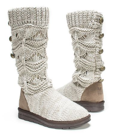 Another great find on #zulily! Natural Jamie Sweater Boot by MUK LUKS #zulilyfinds