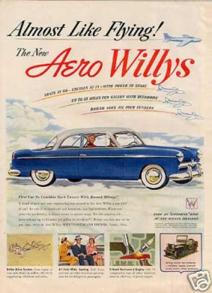 1952 Aero Willys Hardtop