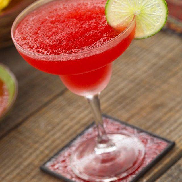 Margarita de Fresa con Tequila