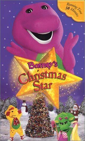 Barney's Christmas Star 2002 VHS