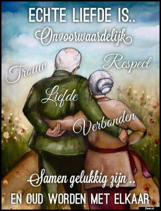 Echte liefde is