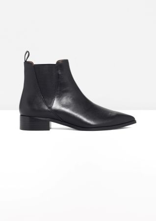 & Other Stories | Leather Chelsea Boots