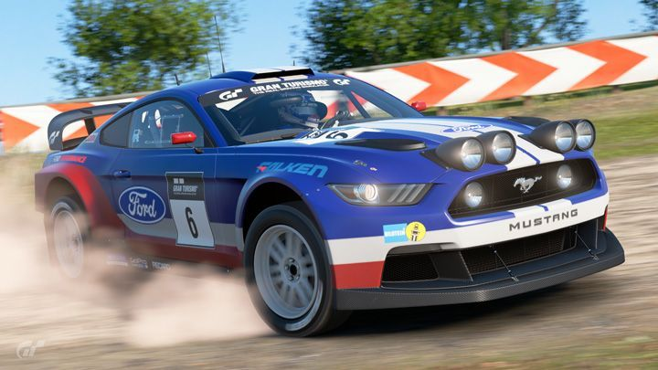 2015 Ford Mustang Gr.B Rally Car MkVI