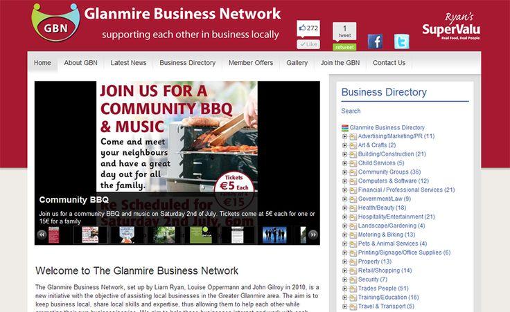 Glanmire Business Network Website