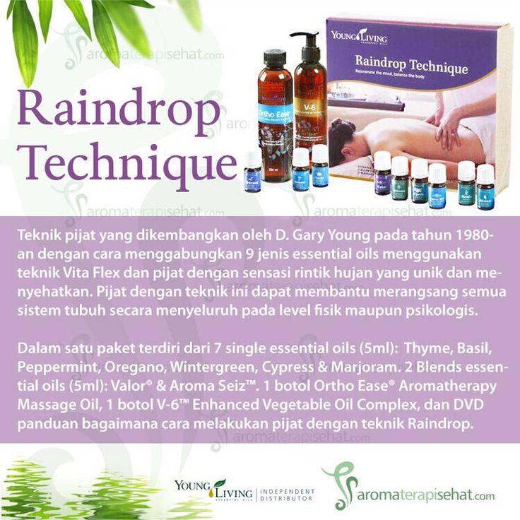 Raindrop Technique Essential Oil Collection