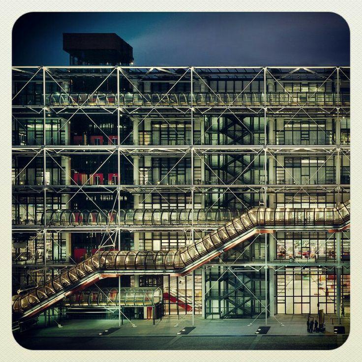 17 best images about richard rogers on pinterest zip ups for Art minimal pompidou