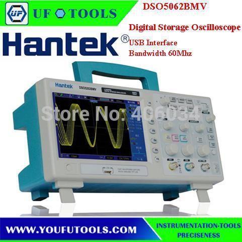 Hantek DSO5062BMV LCD Deep Memory 60MHz Bandwidths Digital Storage Oscilloscope