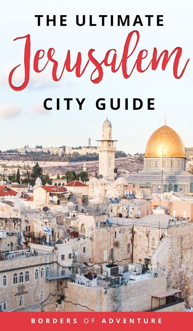 Journey to Jerusalem – The Holy Land Previous and New Metropolis Capital of Israel